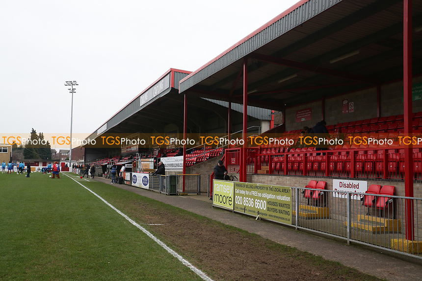 General view of the ground during Dagenham & Redbridge vs Boreham Wood, Vanarama National League Football at the Chigwell Construction Stadium on 5th January 2019