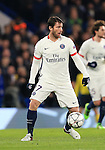 PSG's Maxwell in action<br /> <br /> - UEFA Champions League - Chelsea vs Paris Saint Germain - Stamford Bridge - London - England - 9th March 2016 - Pic David Klein/Sportimage