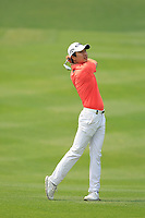Jeunghun Wang (KOR) in action during the final round of the Volvo China Open played at Topwin Golf and Country Club, Huairou, Beijing, China 26-29 April 2018.<br /> 29/04/2018.<br /> Picture: Golffile | Phil Inglis<br /> <br /> <br /> All photo usage must carry mandatory copyright credit (&copy; Golffile | Phil Inglis)