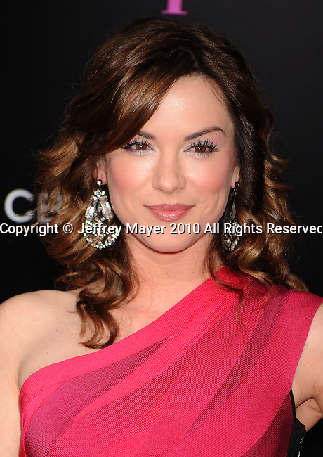"WESTWOOD, CA. - April 21: Danneel Harris attends the ""The Back-Up Plan"" Los Angeles Premiere at Regency Village Theatre on April 21, 2010 in Westwood, California."