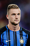FC Internazionale Defender Milan Skriniar getting into the field during the International Champions Cup 2017 match between FC Internazionale and Chelsea FC on July 29, 2017 in Singapore. Photo by Marcio Rodrigo Machado / Power Sport Images