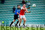 South Kerry in action against Breandan Kelliher Dingle in the Quarter Final of the Kerry Senior County Championship at Austin Stack Park on Sunday.