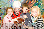 Give me a taste: Proving that they are just as good in the kitchen as grown ups were Mary Kate Reidy, Listowel, Matthew Finucane, Tarbert, Michael Jennedy, Listowel and Laura Sheehan, Listowel who took part in the Listowel Food Fair children's cooking workshop at the Blue Umbrella Gallery on Saturday.   Copyright Kerry's Eye 2008