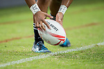 South Africa vs New Zealand, Day 2 of the HSBC Singapore Rugby Sevens as part of the World Rugby HSBC World Rugby Sevens Series 2016-17 at the National Stadium on 16 April 2017 in Singapore. Photo by Victor Fraile / Power Sport Images