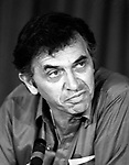 Bill Graham 1982 press conference for US Festival.© Chris Walter.