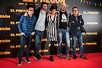 Berto Romero, Dani de la Orden, Belen Cuesta, Goyo Jimenez and Andre Buenafuente during the presentation of the film &quot;El Preg&oacute;n&quot; in Madrid, March 15, 2016<br /> (ALTERPHOTOS/BorjaB.Hojas)