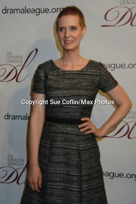 - The 78th Annual Drama League Awards on May 18, 2012 at The New York Marriott Marquis, New York City, New York.(Photo by Sue Coflin/Max Photos) Cynthia Nixon
