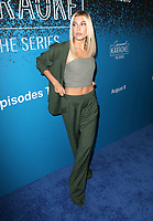 07 August 2017 - West Hollywood, California - Hailey Baldwin. 'Carpool Karaoke: The Series' On Apple Music Launch Party held at Chateau Marmont. Photo Credit: F. Sadou/AdMedia