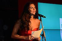 RIO DE JANEIRO, RJ, 23 JULHO 2012 - PREMIO CONTIGO DE MPB - Daniela Sarahyba na cerimonia de entrega do primeiro Premio Contigo de Musica Popular Brasileira, no espaco Miranda, zona sul do rio.(FOTO: MARCELO FONSECA / BRAZIL PHOTO PRESS).