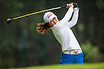 Su-Yeon Jang of Korea in action during the Hyundai China Ladies Open 2014 Pro-am on December 10 2014 at Mission Hills Shenzhen, in Shenzhen, China. Photo by Xaume Olleros / Power Sport Images