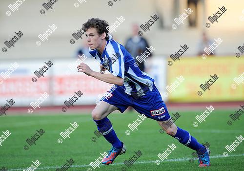 2012-09-04 / Voetbal / seizoen 2012-2013 / KV Turnhout / Jorne Segers..Foto: Mpics.be