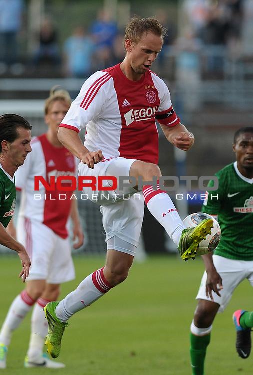 19.07.2013, MEP-Arena, Meppen, GER, 1.FBL, FSP, Werder Bremen vs Ajax Amsterdam, im Bild Siem De Jong (Amsterdam #10)<br /> <br /> Foto &copy; nph / Frisch