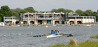 Eton,  GREAT BRITAIN. General Views of the Eton  Boathouse and regatta course,  Eton Schools' Regatta, Eton Rowing Centre, Dorney Lake. [Finish of cancelled National Schools Regatta], Saturday, 07/06/2008  [Mandatory Credit:  Peter SPURRIER / Intersport Images] Rowing Courses, Dorney Lake, Eton. ENGLAND Eton College, Boat house,