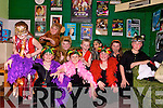 Performance:  Members of West Limerick Stage Schools production of The Jungle Book, pictured before they go on stage on Saturday night at The Tintean Theatre, Ballybunion