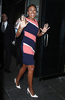 NEW YORK, NY - MAY 7: Robin Roberts host of Good Morning America seen at ABC Studios in New York City on May 7, 2018. Credit: RW/MediaPunch