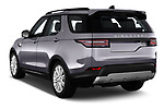 Car pictures of rear three quarter view of 2018 Land Rover Discovery HSE 5 Door SUV angular rear