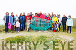 GOBY - The reciprocal for Marine Plastics at Derrynane beach was unveiled on Thursday, the project was sponsored by Derrynane Inshore Rescue, supported by the OPW and was made by local man Patrick Murphy with recycled materials, two more GOBY's are planned for Derrynane Harbour and the White Strand.  It is hoped that more local costal communities would seek similar bins.