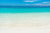 The mind escapes into the infinite expanse on one of the most beautiful beaches in the world.