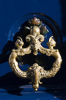 Door knocker, Boulevard Saint Germain, Paris, France