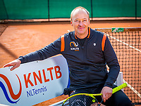 Almere, Netherlands, April 3, 2018, New clothes KSwiss for KNLTB staff<br /> Photo: Tennisimages/Henk Koster