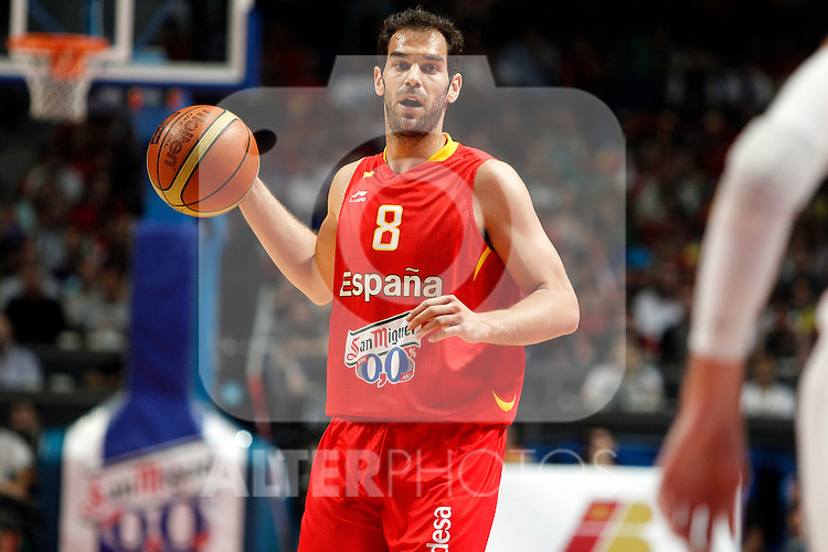 Spain's Calderon during friendly match Spain vs France.July 10,2012.(ALTERPHOTOS/ARNEDO)