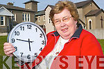 Time flies: Marian Moloney, founded the Ballybunion Active Retirement group in 2006, after she and her husband came to live in the Respond Housing when they were forced to flee Zimbabwe.     Copyright Kerry's Eye 2008