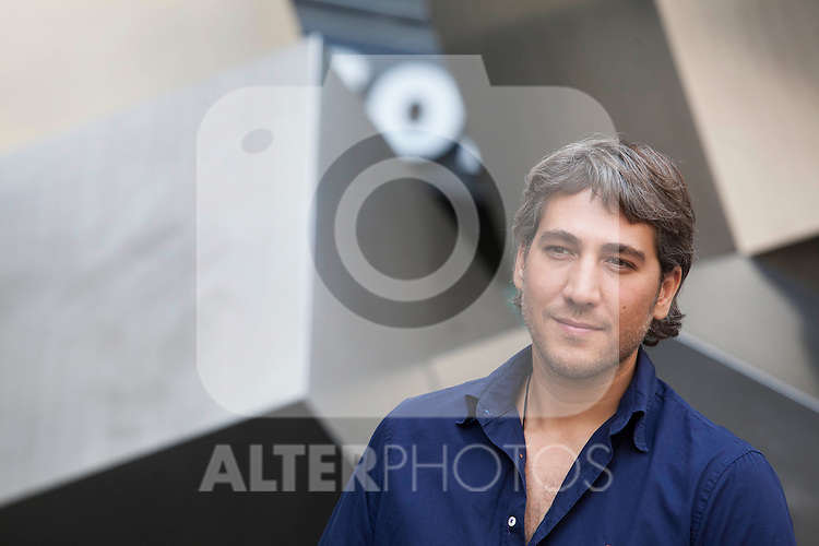 Actors Alberto Ammann present the film 'Betibu' at Cinema Princesa in Madrid. September 09, 2014. (ALTERPHOTOS / Nacho Lopez)