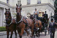 Newport, RI carriage driving event, Rosecliff