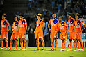 Albirex Niigata team group, SEPTEMBER 24, 2011 - Football / Soccer : Albirex Niigata players look dejected after the 2011 J.League Division 1 match between Jubilo Iwata 1-0 Albirex Niigata at Yamaha Stadium in Shizuoka, Japan. (Photo by AFLO)