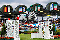 IRL-Cian O'Connor rides Irenice Horta during the Mercedes-Benz CSIO5* Nationenpreis. 2019 GER-CHIO Aachen Weltfest des Pferdesports. Thursday 18 July. Copyright Photo: Libby Law Photography