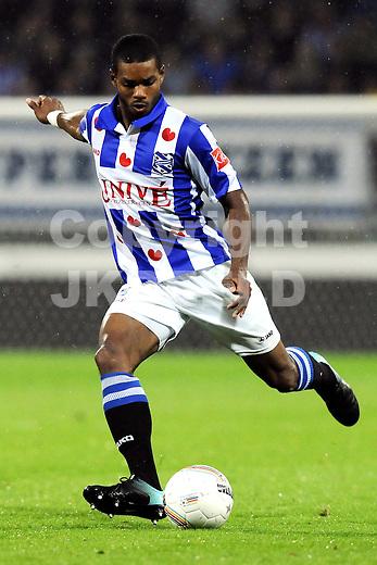 voetbal sc heerenveen - psv eredivisie seizoen 2010-2011 07-08-2010 calcin jong a pin