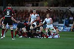 Dragons scrum half Richie Rees<br /> RaboDirect Pro 12<br /> Newport Gwent Dragons v Ulster<br /> Rodney Parade<br /> 06.09.13<br /> <br /> &copy;Steve Pope-SPORTINGWALES