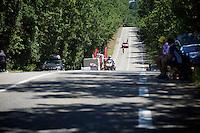 André Greipel (DEU/Lotto-Soudal) underway<br /> <br /> stage 13 (ITT): Bourg-Saint-Andeol - Le Caverne de Pont (37.5km)<br /> 103rd Tour de France 2016