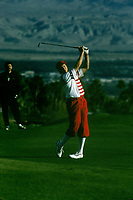 Payne Stewart defeated Fred Couples, Tom Kite and Gregg Norman to win the 1992 Skins Game at Bighorn Golf Club in Palm Desert, Calif.