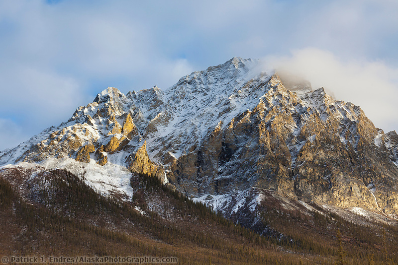 Rugged peaks of the Brooks Range mountains, Arctic, Alaska
