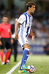 Real Sociedad's Xabi Prieto during La Liga match. August 21,2016. (ALTERPHOTOS/Acero)