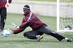 6 April 2007: Bouna Coundoul. DC United and the Colorado Rapids trained on the practice fields at Dick's Sporting Goods Park in Denver, Colorado, in preparation for the season opener to be played Saturday, April 7.