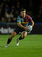 Harlequins' Danny Care<br /> <br /> Photographer Bob Bradford/CameraSport<br /> <br /> Gallagher Premiership - Harlequins v Saracens - Saturday 6th October 2018 - Twickenham Stoop - London<br /> <br /> World Copyright © 2018 CameraSport. All rights reserved. 43 Linden Ave. Countesthorpe. Leicester. England. LE8 5PG - Tel: +44 (0) 116 277 4147 - admin@camerasport.com - www.camerasport.com