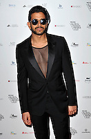 Nik Thacker attends the WGSN Global Fashion Awards at the Victoria & Albert Museum on October 30, 2013 in London, England