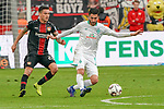 17.03.2019, BayArena, Leverkusen, GER, 1. FBL, Bayer 04 Leverkusen vs. SV Werder Bremen,<br />  <br /> DFL regulations prohibit any use of photographs as image sequences and/or quasi-video<br /> <br /> im Bild / picture shows: <br /> Aron Jóhannsson (Werder Bremen #20), im Zweikampf gegen  Nuri Sahin (Werder Bremen #17), <br /> <br /> Foto © nordphoto / Meuter