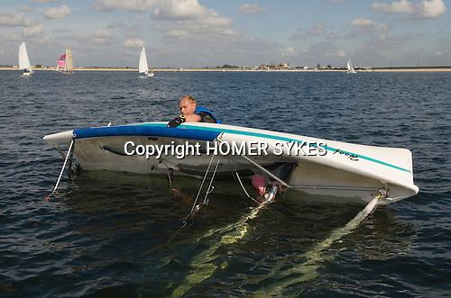 Datchet Water Sailing Club. Queen Mother Reservoir, Slough,2007