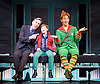 Elf <br /> by Thomas Meehan and Bob Martin <br /> at the Dominion Theatre, London, Great Britain <br /> press photocall <br /> 2nd November 2015 <br /> Joe McGann Walter Hobbs<br /> Ewan Rutherford as Michael Hobbs <br /> Ben Forster as Buddy <br /> <br /> <br /> Photograph by Elliott Franks <br /> Image licensed to Elliott Franks Photography Services