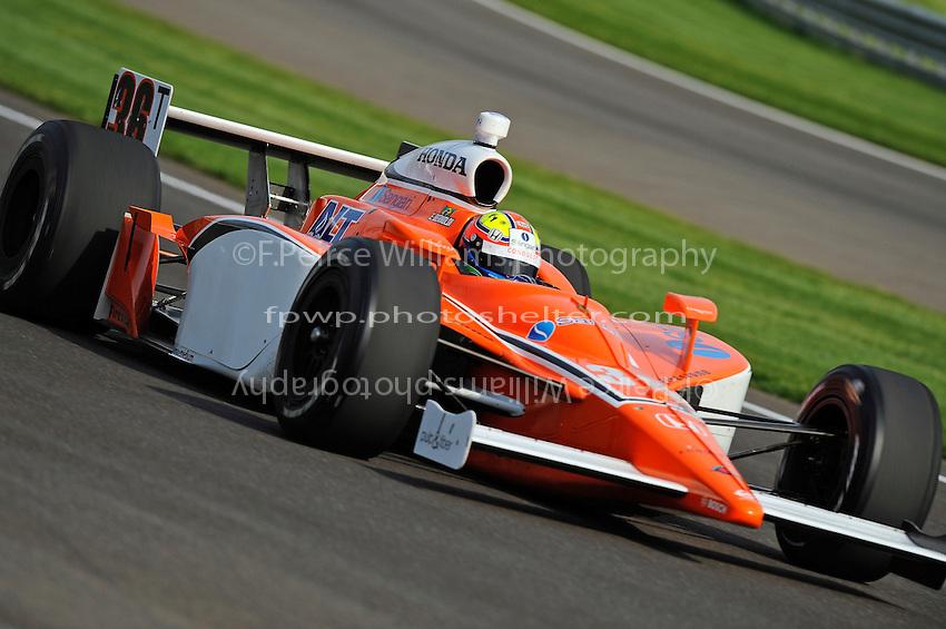 4-25 May 2008, Indianapolis,Indiana, USA.Enrique Bernoldi's Honda/Dallara.©2008 F.Peirce Williams, USA.