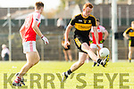 Johnny Buckley Dr Crokes in action against Barry O' Sullivan Dingle in the Senior County Football Semi Final in Fitzgerald Stadium on Sunday.