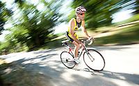 05 JUN 2010 - MADRID, ESP - Ricardo Badia Pardo - Spanish Age Group Triathlon Championships (PHOTO (C) NIGEL FARROW)