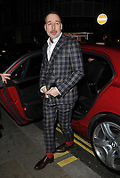David Furnish at the LFW (Men's) a/w 2019 GQ Dinner, Brasserie of Light, Selfridges, Duke Street, London, England, UK, on Monday 07 January 2019.<br /> CAP/CAN<br /> &copy;CAN/Capital Pictures