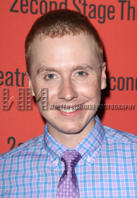 Steven Booth .attending the after Party for Off-Broadway Opening Night Performance of Second Stage Theatre's 'Dogfight' at HB Burger in New York City.