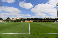 20200304  Parchal , Portugal : illustration picture showing the Estadio Municipal da Bela Vista before the female football game between the national teams of Denmark and Norway on the first matchday of the Algarve Cup 2020 , a prestigious friendly womensoccer tournament in Portugal , on wednesday 4 th March 2020 in Parchal , Portugal . PHOTO SPORTPIX.BE | DAVID CATRY