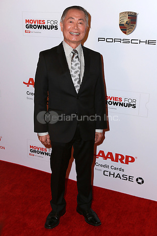 BEVERLY HILLS, CA - FEBRUARY 2: George Takei at the AARP 14th Annual Movies For Grownups Awards Gala at the Beverly Wilshire Hotel in Beverly Hills, CA on February 2, 2015. Credit: David Edwards/DailyCeleb/MediaPunch