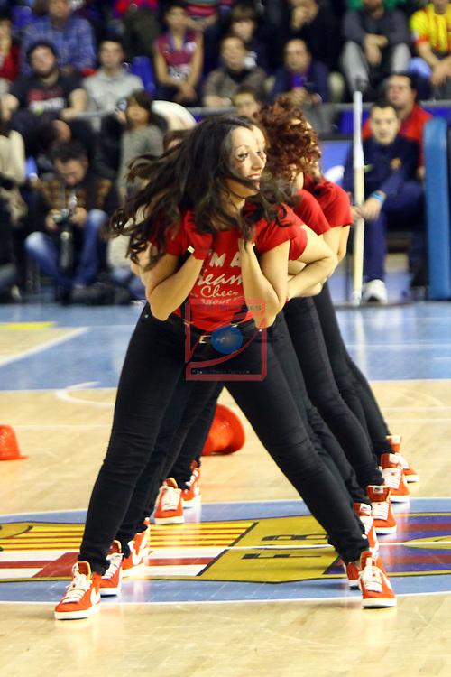 Euroleague Basketball-Regular Season Game: 07<br /> FC Barcelona vs Fenerbahce Ulker Istanbul: 94-81.<br /> Dream Cheers.